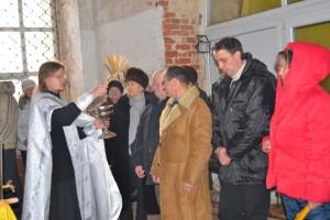 Крещенская служба 19 января 2014 г